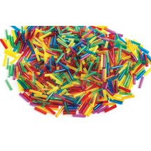 Discount School Supply - Cool Tube Beads - 1 lb.  cut up straws to make this as well