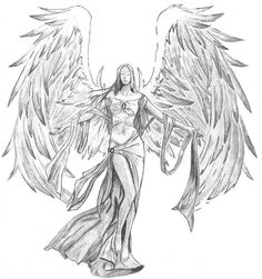 I always wanted my priest's after-death form (guardian angel) to look more like a beautiful angel. And this is my vision of it Guardian Angel Sketches, Libra Art, Art Drawings, Angel Drawing, Angel, Fairy Coloring Pages, Valkyrie Tattoo, Art Sketches, Cute Drawings