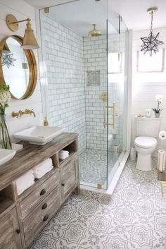 10 Best Farmhouse Master Bathroom Remodel Ideas - hariankoran