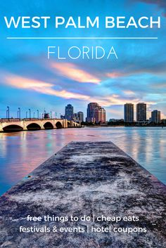 Take a trip to the seaside and be treated to world-class cultural attractions - Check out the destination guide to West Palm Beach and other major U.S. cities by HotelCoupons.com