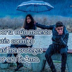 Imágenes de amor bajo la lluvia con frases