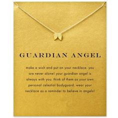 gold plated angel wings pendant