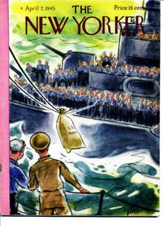 April-7-1945-THE-NEW-YORKER-Magazine-Vintage-WWII-Weekly-News