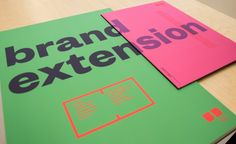 brand extension university projects exhibition