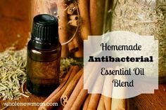 This DIY Antibacterial / Antifungal Essential Oils Blend (like Thieves®) is easy to make and cheaper than buying the pre made blend.