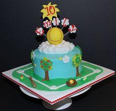 The Bakery Next Door: Softball Birthday Cake
