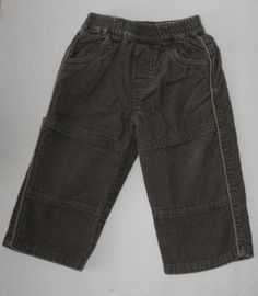 The Children's Place TCP Baby Boys 18 Months Brown Cords Pants~Great pair of Casual Dress pants. Very versatile color.