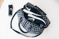 Nike sneakers, By Malene Birger bag