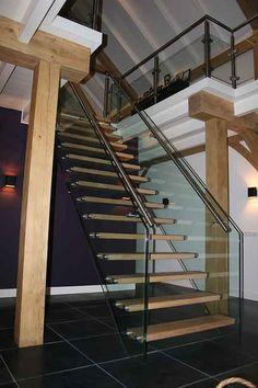 Mooie trap in een villa te Zwolle