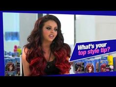 Jesy getting her hair dyed (YouTube)