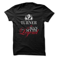 Awesome Tee TURNER, the man, the myth, the legend T shirts