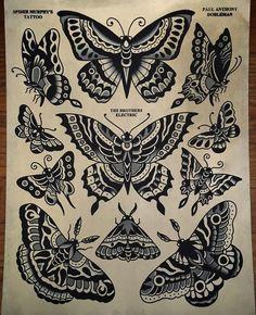 4,339 vind-ik-leuks, 19 reacties - Paul Dobleman (@pauldobleman) op Instagram: 'Need a #butterfly or #moth ? Have at em... ❤️ #spidermurphys @the_brothers_electric'