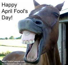 Happy April Fool's day yall