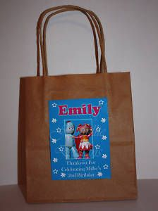 Personalised In the Night Garden Party Bags