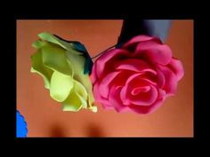 Sorry, This Video does not exist Flower Vase Making, Flower Vases, Fabric Flowers, Paper Flowers, Fun Crafts, Paper Crafts, Plastic Bottle Flowers, Coffee Filter Flowers, Mixed Media Canvas