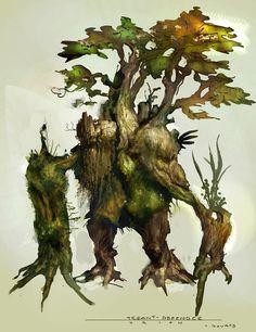 Tree creature by Vance Kovacs