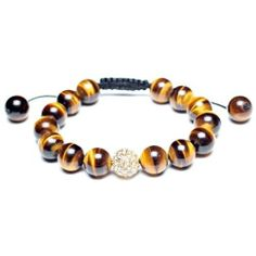 Purchase Brown Tiger Eye Pave Crystal Ball Beads Shamballa Inspired Bracelet For Women Black Cord String Adjustable from Bling Jewelry Inc on OpenSky. Share and compare all Jewelry. Bling Jewelry, Gemstone Jewelry, Men's Jewelry, Jewellery, Bracelets For Men, Jewelry Bracelets, Bangles, Crystal Beads, Crystals