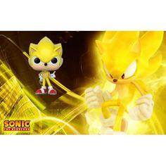 Figurine Funko Pop Games Sonic Super Sonic Edition Limitée geek sui... Funko Pop, Game Sonic, Bd Comics, Pop Games, Manga, Pikachu, Geek Stuff, Fictional Characters, Art