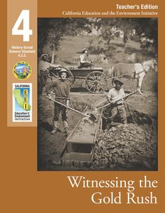 Free Social Studies and Science resources! CA Education and the Environment Initiative