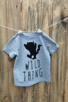Show off your toddlers wild spirit with this custom T-Shirt. Pre-washed T-Shirt and fabric.    *Please allow 3-4 weeks for processing and delivery