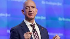 Amazon founder Jeff Bezos is now the third richest in the world. Mr Bezos owns 18% of Amazon's shares, which rose 2% in trading on Thursday.