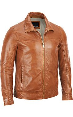 Wilsons Leather Lamb Jacket w/ Convertible Collar - #WilsonsLeather #LeatherJacket