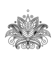 lotus flower design mandala - Google Search