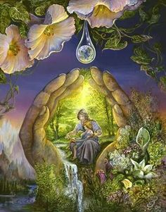 Josephine Wall fantasy art