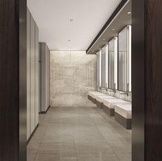 DB金 Small Office Design, Office Interior Design, Modern Interior, Interior Decorating, Wc Design, Toilet Design, Office Bathroom, Bathroom Interior, Space Interiors