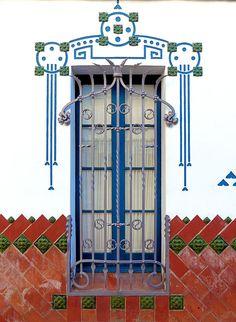 https://flic.kr/p/CgsRyP   Cerdanyola del Vallès - St. Martí 77 b   Casa Mongay  1912  Architect: Eduard Maria Balcells i Buigas