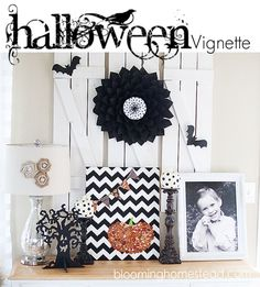 Just wanted to share my Halloween Vignette I put together. Still have more decorating to do, but figured this is a good start. I have tutorials for several of the items shown here, you'll find the links to those step by step tutorials at the end of the post. My goal for Halloween decor was [...]