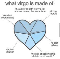 Virgo Sign, Zodiac Signs Astrology, Zodiac Star Signs, Astrology And Horoscopes, Virgo Horoscope, Virgo Zodiac, Funny Virgo Quotes, Virgo Memes, Virgo Traits