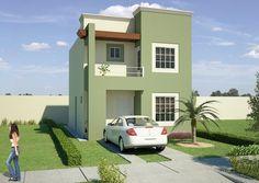 casa fachada colores | inspiración de diseño de interiores