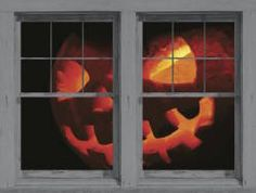 20 spooky halloween window decorations