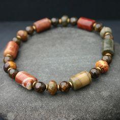 Karen 615 Lava Rock Argent Sterling Bracelet Avec fermoir Pour Homme Femmes Handmade À faire soi-même