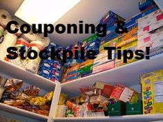 Couponing and Stockpile tips!