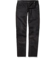 R13Faded Denim Slim-Fit Jeans