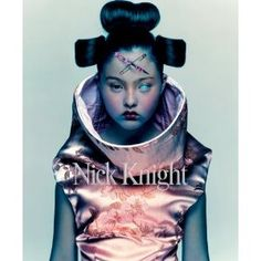 Devon Aoki by Nick Knight wearing McQueen I believe. Truly iconic image, IMO.
