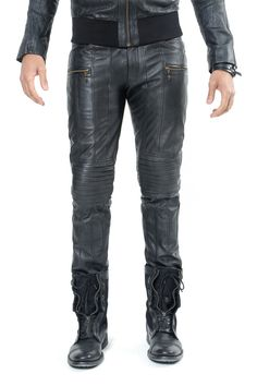 Five and Diamond Jan Hilmer All Leather Revolution Pants
