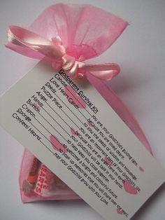 God Parent Survival Kit Novelty Baptism/Christening/Naming Day Thank You Gift Card on Etsy, $8.60