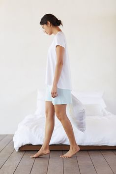 Pure Jill Sleep ultrasoft tee and the Pure Jill Sleep ultrasoft shorts