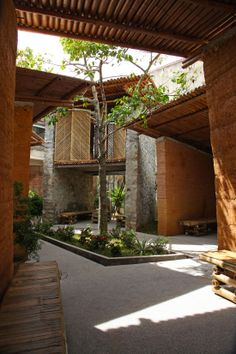 BES Pavilion - H&P Architects - Ha Tinh, Vietnam #architecture #bamboo