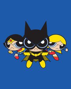 Super Tough Girls – Powerpuff Girls/DC Comics Mash-Up