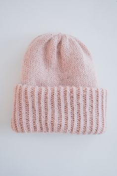 KNITTED CHUNKY BEANIE - No Home Without You