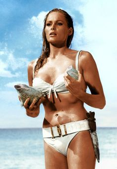 Ursula Andress Belted Bikini #SS14SWIM #BondGirlChic #figleaves