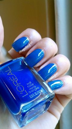 Loreal blue jelly polish