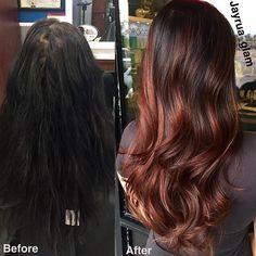 Cherry Bombré Is the Ultimate Low-Maintenance Rainbow Hair Trend