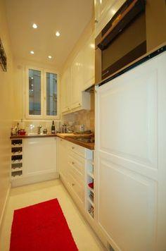 Kitchen Paris Apartments, Old Building, Classic Beauty, Eve, Kitchen Cabinets, Tower, Home Decor, Decoration Home, Computer Case