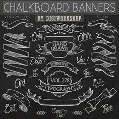 Free Chalkboard Clip Art Graphics Clementine Creative
