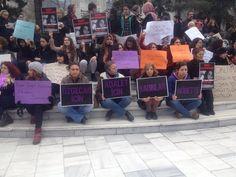 Bursa Heykel'de Kadınların Yaşam Nöbeti!